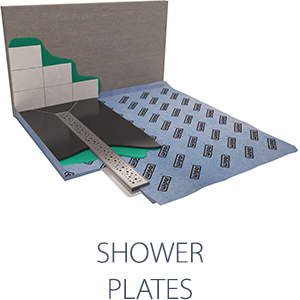 shower plates